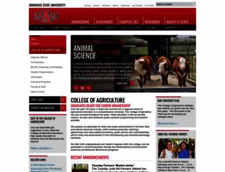 agri.astate.edu screenshot