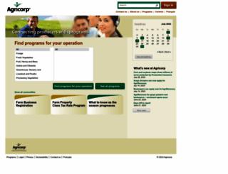 agricorp.com screenshot