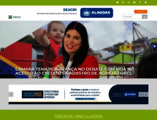 agricultura.al.gov.br screenshot