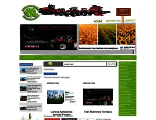 agriculturaromaneasca.ro screenshot