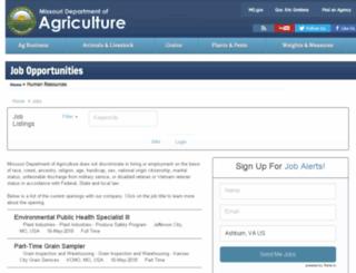 agriculturemo.applicantpro.com screenshot