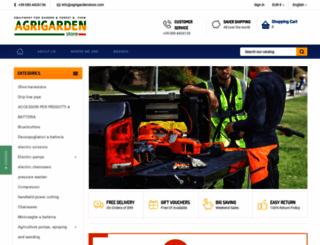 agrigardenstore.com screenshot