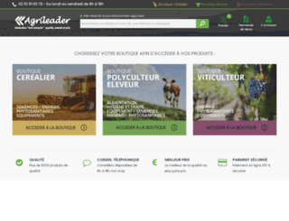 agrileader.fr screenshot