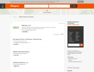 agrimex.firmy.net screenshot