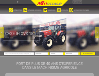 agrioccas.fr screenshot