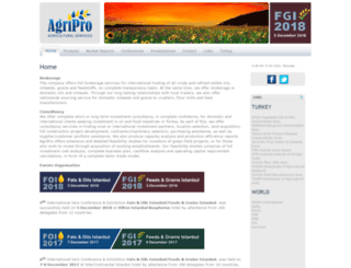 agripro.com.tr screenshot