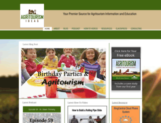 agritourismideas.com screenshot