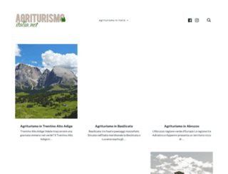 agriturismo-italia.net screenshot