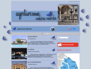 agriturismo-umbria-marche.it screenshot