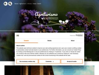 agriturismo.emilia-romagna.it screenshot
