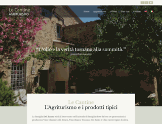 agriturismolecantine.it screenshot