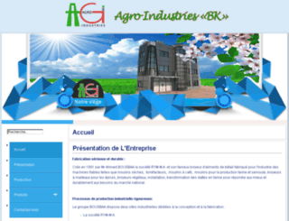 agro-industries-bk.com screenshot