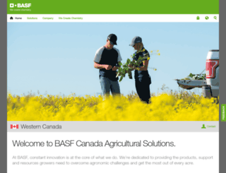 agro.basf.ca screenshot