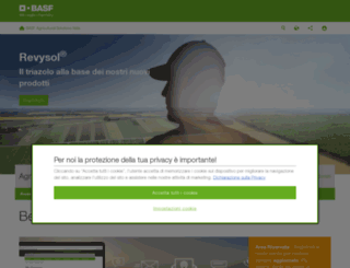 agro.basf.it screenshot