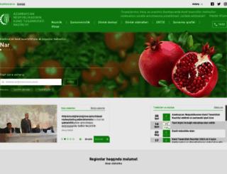 agro.gov.az screenshot