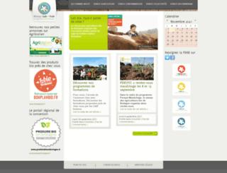 agrobio-bretagne.org screenshot