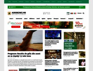 agrobiznes.md screenshot