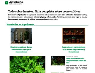 agrohuerto.com screenshot