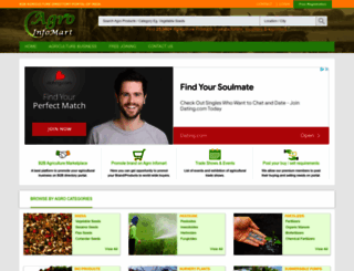 agroinfomart.com screenshot