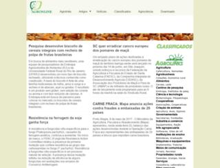 agronline.com.br screenshot