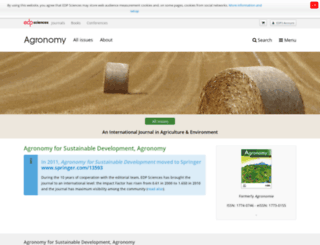 agronomy-journal.org screenshot