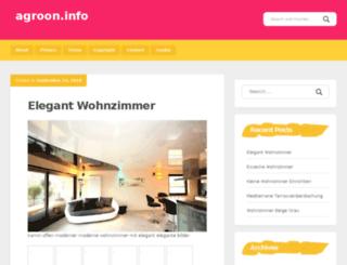 agroon.info screenshot