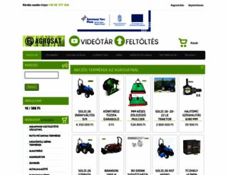 agrosat.hu screenshot