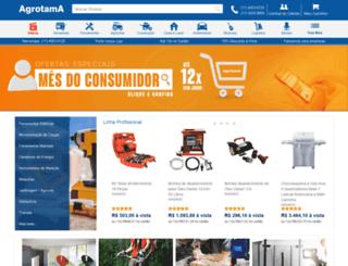 agrotama.com.br screenshot