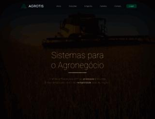 agrotis.com.br screenshot