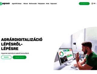 agrovir.hu screenshot