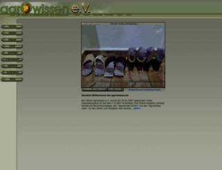 agrowissen.de screenshot