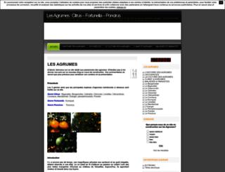 agrumespassion.unblog.fr screenshot