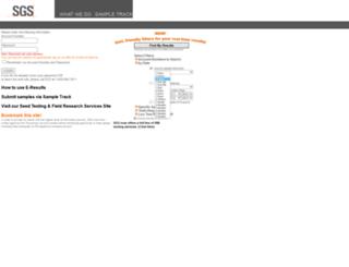 agservices.sgs.com screenshot
