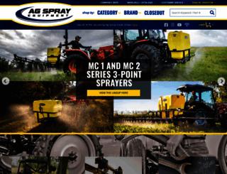 agspray.com screenshot