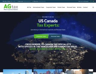 agtax.ca screenshot