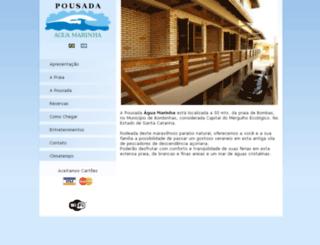 aguamarinha.net screenshot