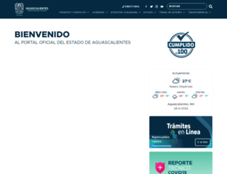 aguascalientes.gob.mx screenshot