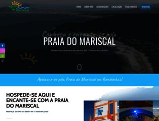 aguasdomariscal.com.br screenshot