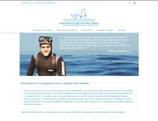 aguasinplasticosalud.es screenshot
