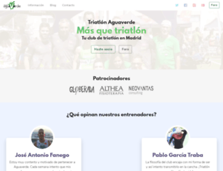 aguaverde.org screenshot