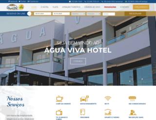 aguavivahotel.com.br screenshot