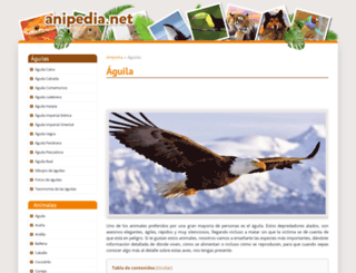 aguilas.anipedia.net screenshot