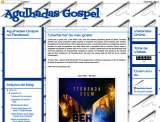 agulhadas-gospel.blogspot.com.br screenshot