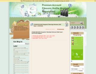 agungfastline.blogspot.com screenshot