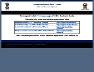 agup.cag.gov.in screenshot