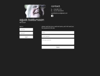 agustbaldursson.com screenshot