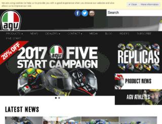agv-moto.com screenshot