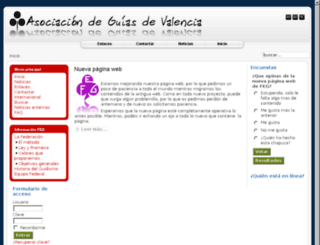 agv.feg.org.es screenshot