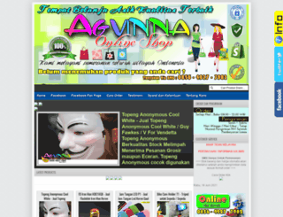 agvinnaonlineshop.blogspot.com screenshot