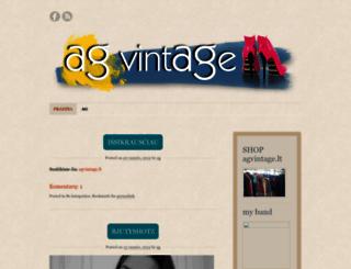 agvintage.wordpress.com screenshot